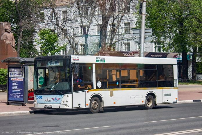 С 1 сентября в Рязани увеличат количество автобусов и троллейбусов на маршрутах