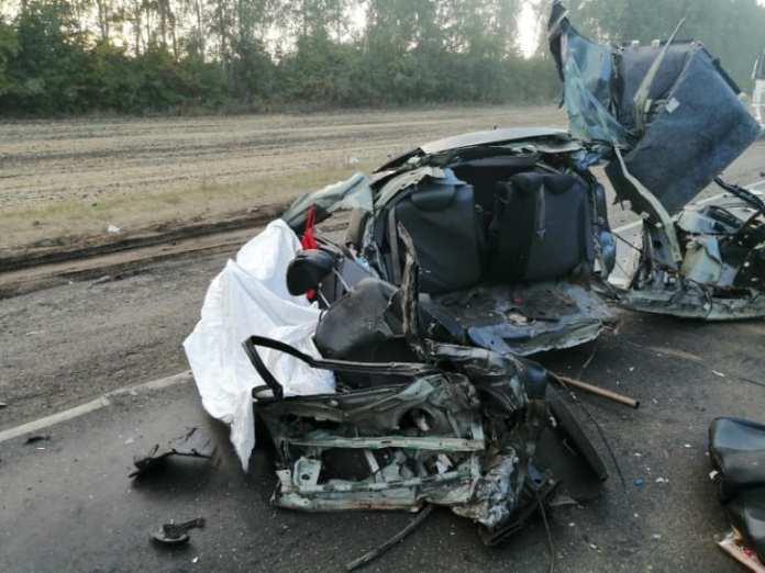 Семья разбилась в аварии под Тамбовом