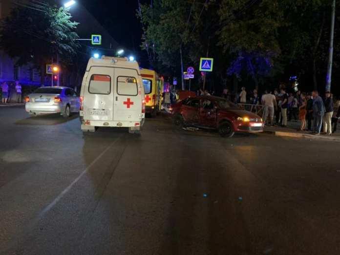 В ДТП с маршруткой в Рязани пострадал 10-месячный ребёнок