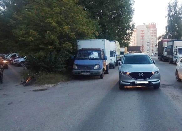 В ДТП на улице Новосёлов в Рязани пострадал 10-летний велосипедист
