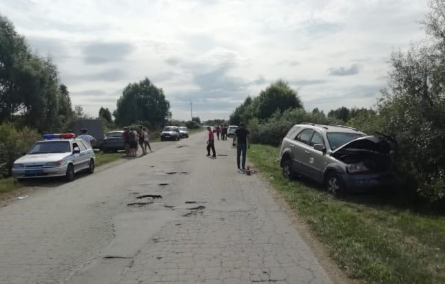 В Кадомском районе столкнулись «Киа» и УАЗ
