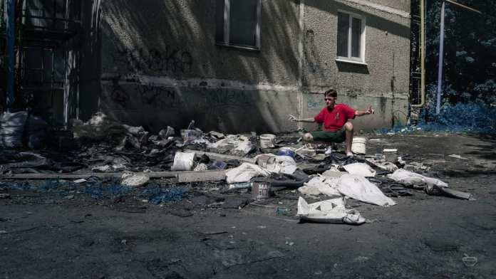 Школьники провели фотосессию в «трешовых» местах Новомичуринска