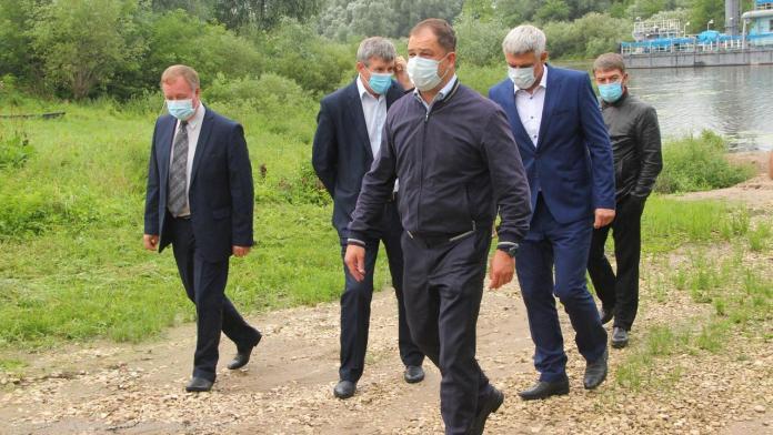 В Рязани расчистили территорию Дядьковского затона
