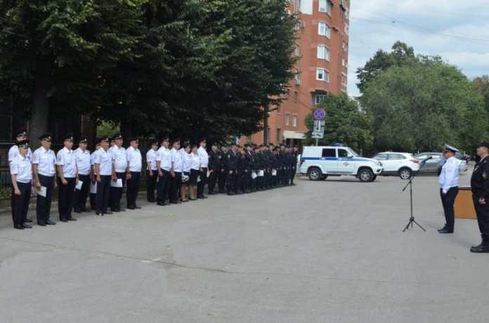 Руководство рязанской полиции наградило сотрудников ППС
