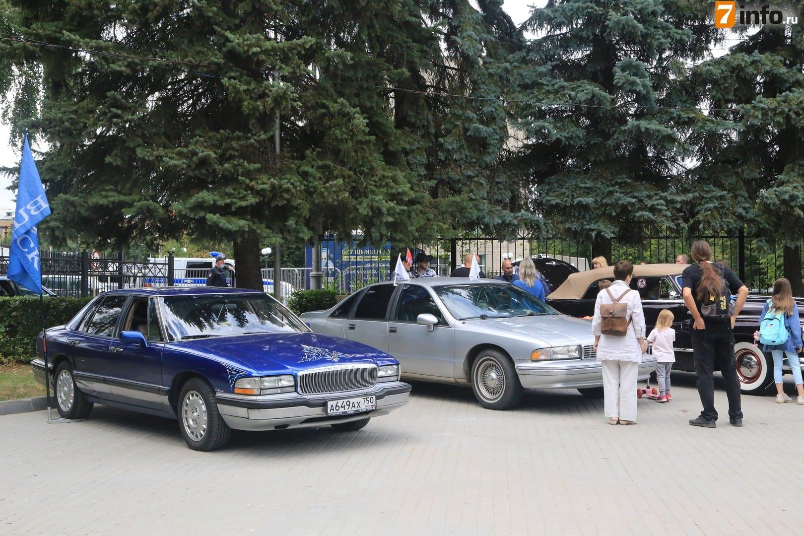 В Рязани проходит фестиваль ретротехники «Машина времени»