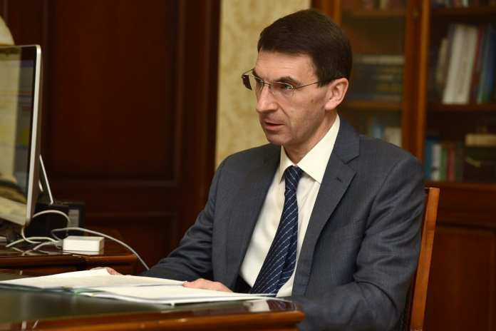 Николай Любимов и полпред президента обсудили ситуацию с коронавирусом в Рязанской области