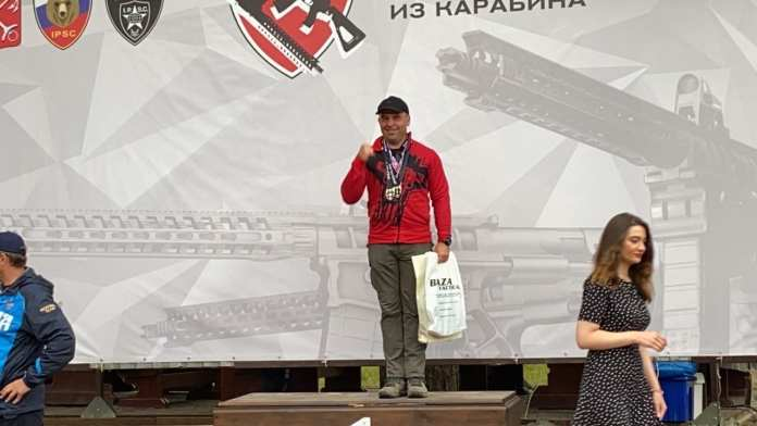 Рязанец стал чемпионом России по практической стрельбе из карабина