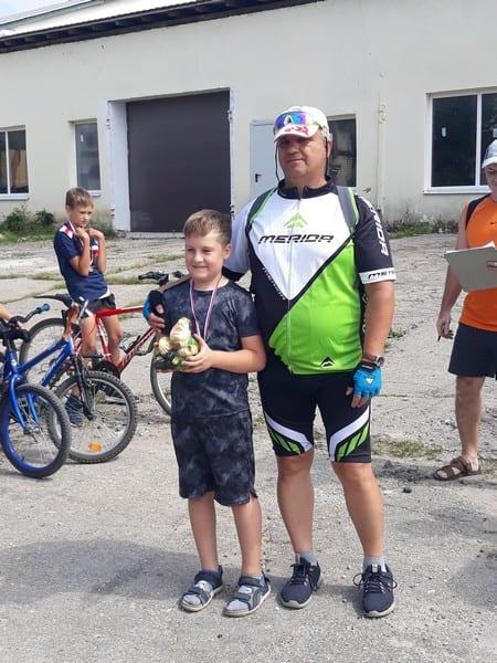 В Скопинском районе прошли соревнования «Фигурное вождение велосипеда»
