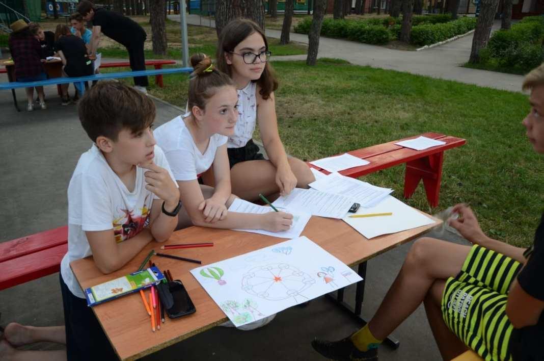 В рязанских детских лагерях проходит серия деловых игр