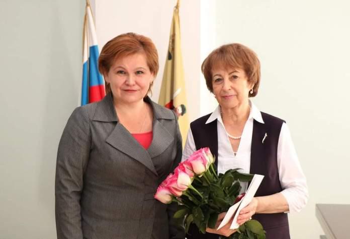 Елена Сорокина поздравила с Днем рождения зампредседателя городской думы