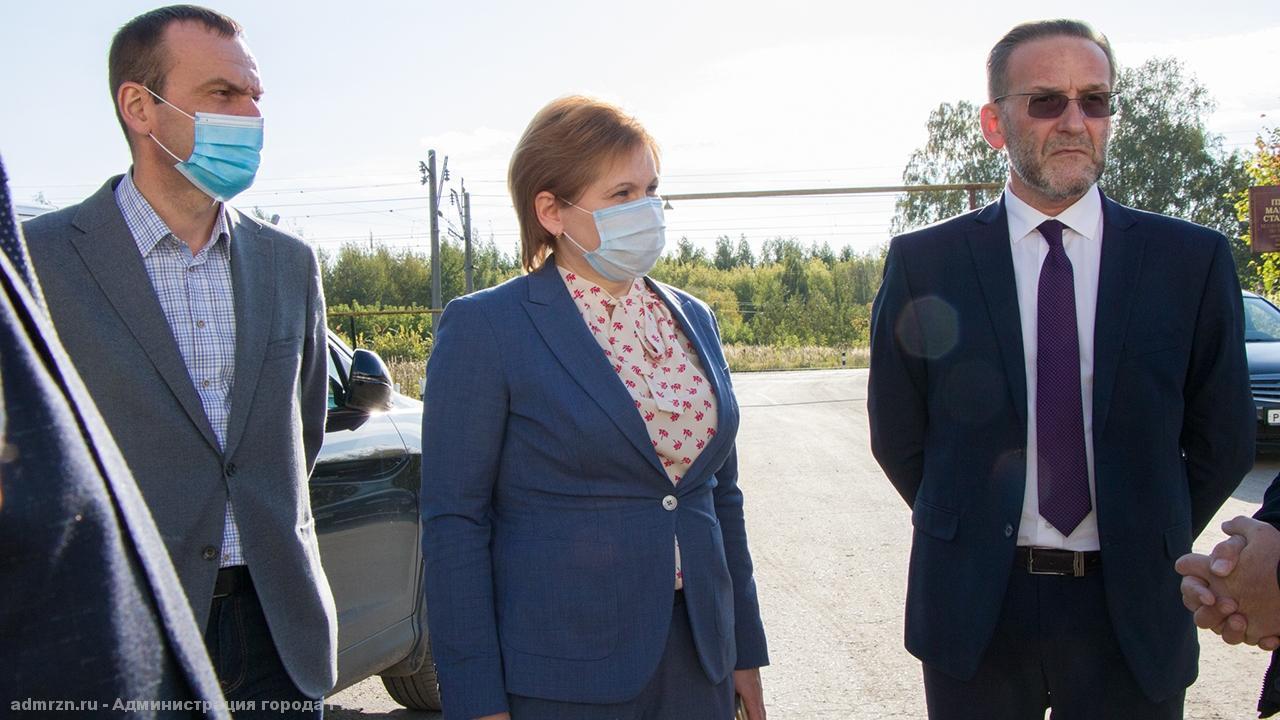 Елена Сорокина оценила ход ремонта улицы Прижелезнодорожной