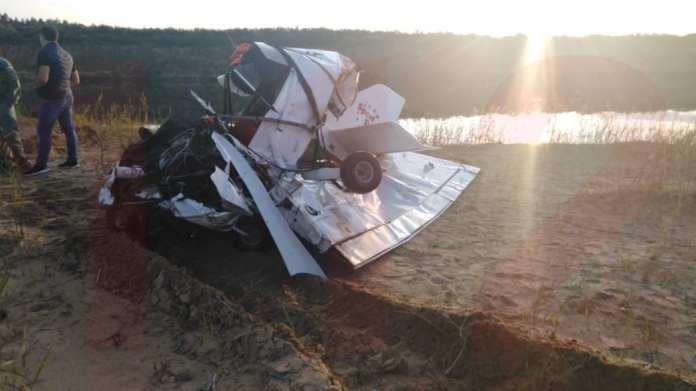 Два человека погибли в результате крушения легкомоторного самолета