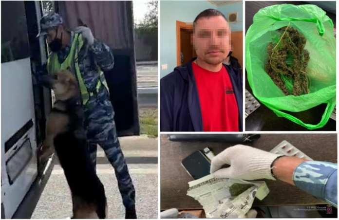 Водителя в состоянии наркотического опьянения из Рязани поймали полицейские