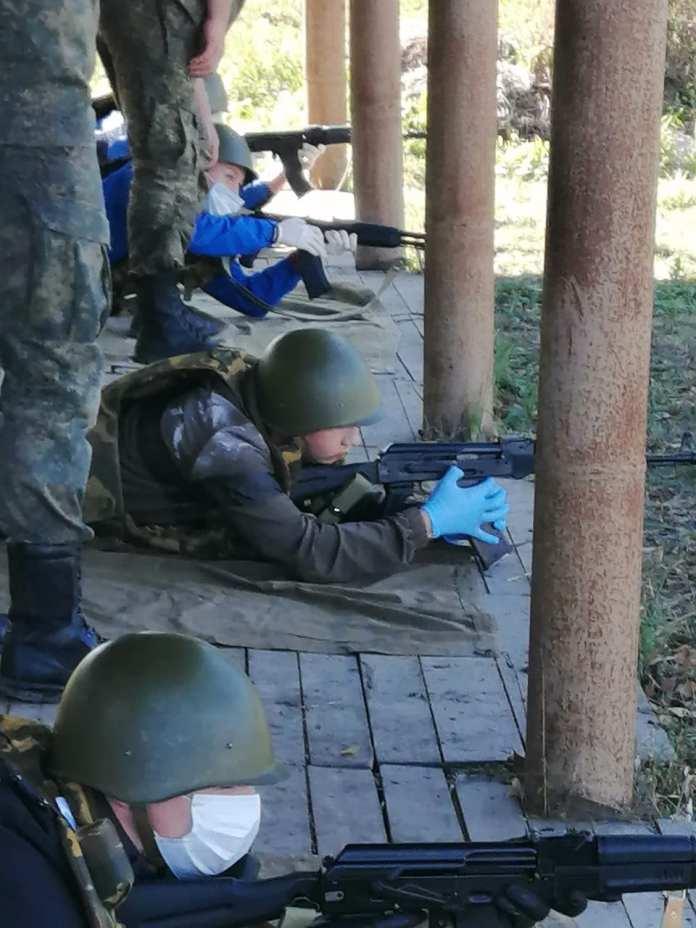 В Скопинском районе одиннадцатиклассники прошли огневую подготовку