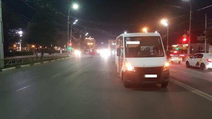 В ДТП в центре Рязани пострадала женщина