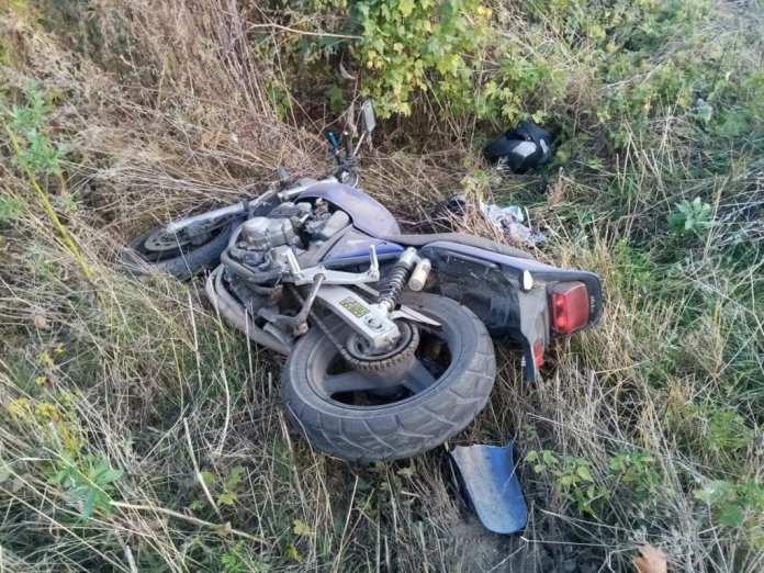 В Елатьме ВАЗ сбил мотоциклиста с пассажиркой