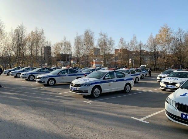 Сотрудники рязанской Госавтоинспекции получили 22 новых автомобиля