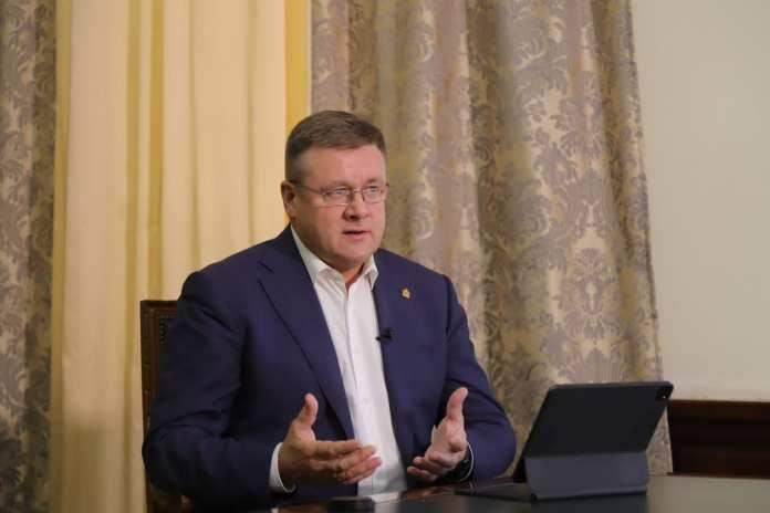 Николай Любимов встретился с главой администрации Скопинского района