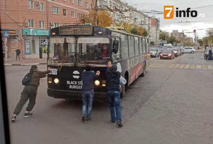 Мэрия назвала причину массовой остановки троллейбусов в Рязани