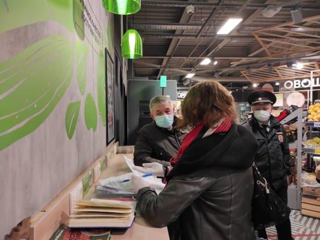 В ходе коронавирусного рейда по ТЦ в Северодвинске выявили 10 нарушений