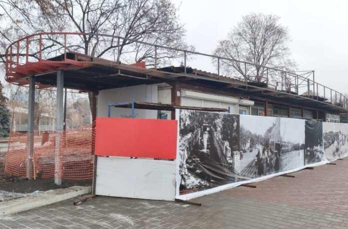 """В Липецке к концу 2021 года остановочный павильон """"Площадь Революции"""" переделают в кафе"""