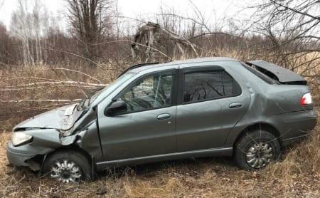 Два человека пострадали в пьяном ДТП в Рязанской области