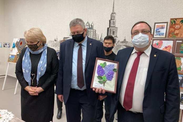 В Рязани открылась выставка работ людей с ограниченными возможностями