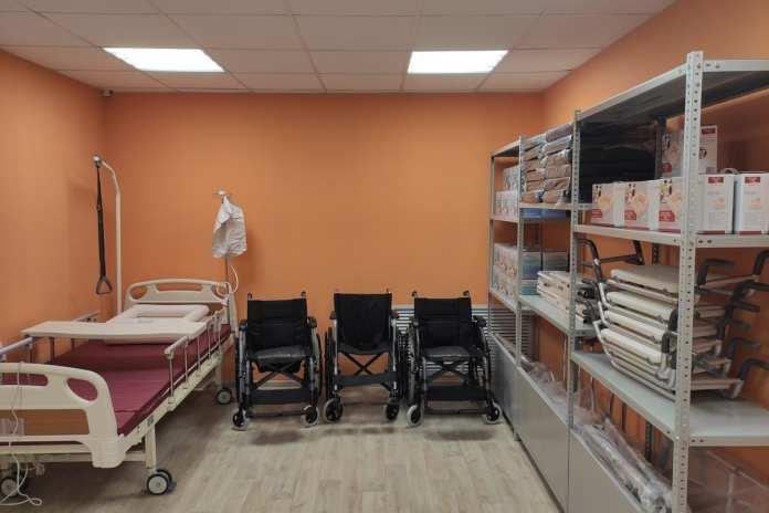 В Захаровском районе открылась служба выдачи средств реабилитации