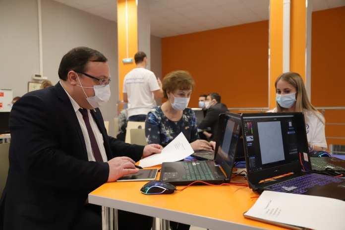 В Рязани презентовали мобильный технопарк