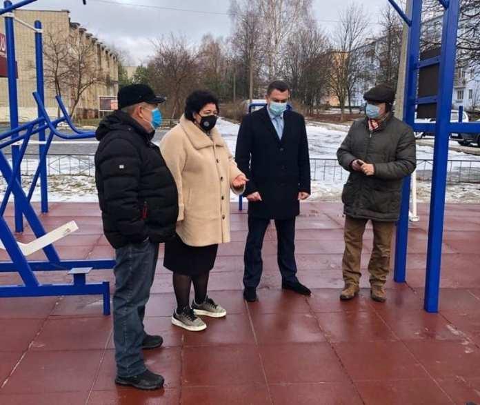 В Рязанском районе открылась очередная уличная площадка для выполнения нормативов ГТО
