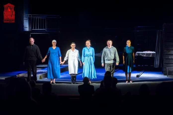 Рязанцам показали спектакль «Колыбельная для Софьи»