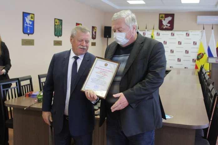 В Скопинском районе поздравили тружеников села