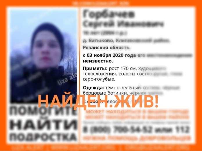 Пропавшего в Клепиковском районе подростка нашли живым