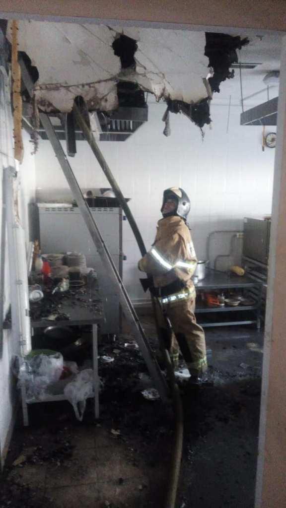 На территории музея-заповедника в Константиново произошёл пожар
