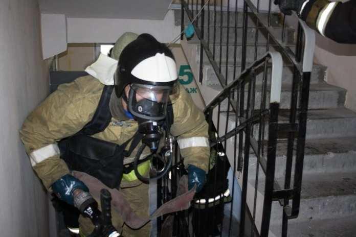 В Астрахани при пожаре в квартире в Советском районе пострадала 80-летняя пенсионерка