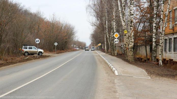 Завершился ремонт дороги на улице Прижелезнодорожной