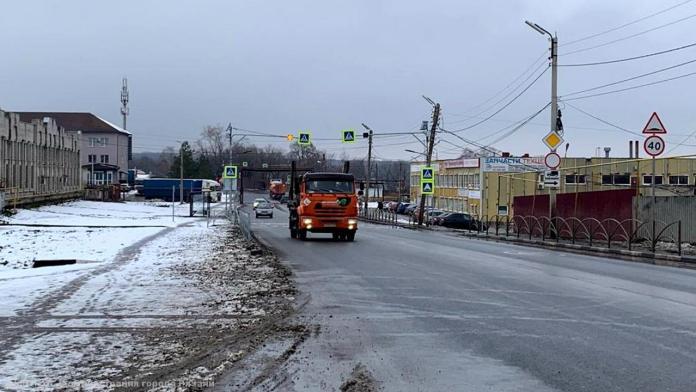 В Рязани провели приёмку отремонтированной автодороги