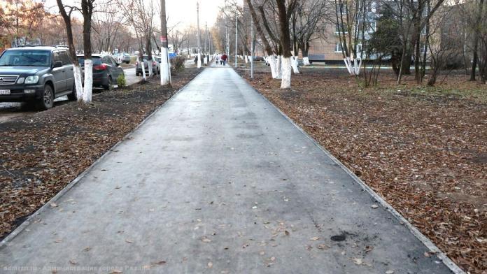 На Севастопольской аллее устранили дефекты асфальта