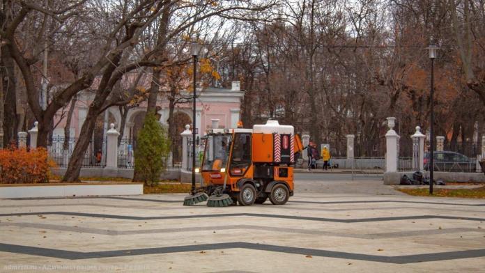 За сутки с улиц Рязани вывезли 26 кубометров мусора