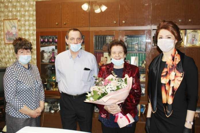 Рокотянская поздравила почетного гражданина Рязани Юлию Балакину с днем рождения