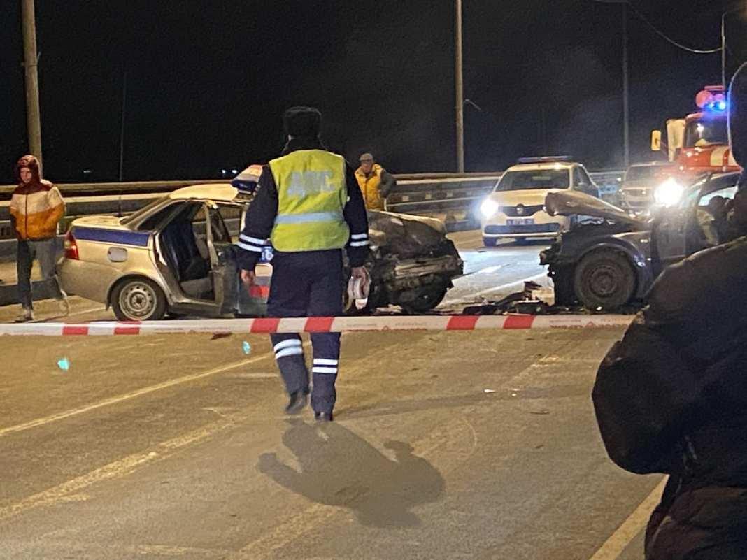 В Касимове произошло ДТП с участием полицейского автомобиля