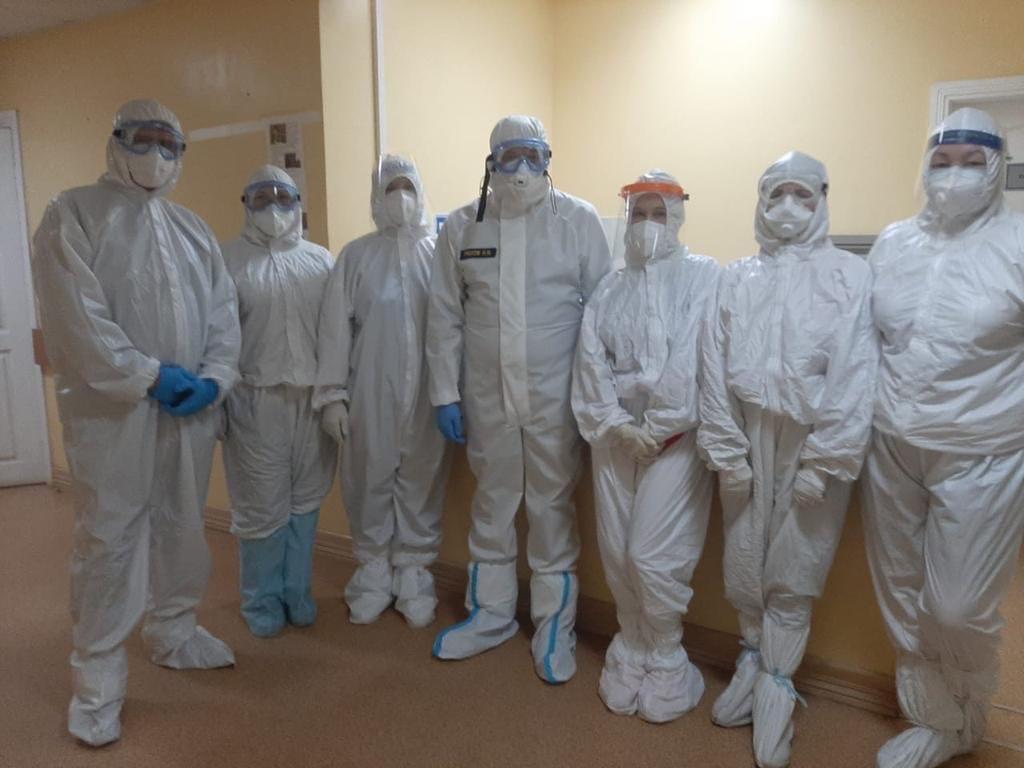 Игорь Греков посетил больницы Рязани, где лечат пациентов с коронавирусом