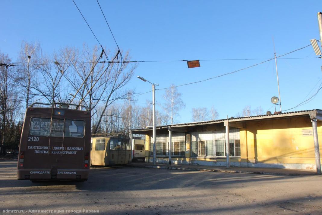 У здания диспетчерской в Рязани отремонтировали крышу