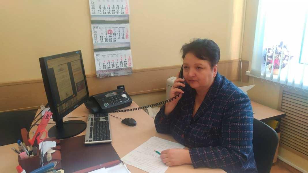 Елена Митина провела личный приём граждан в дистанционном формате