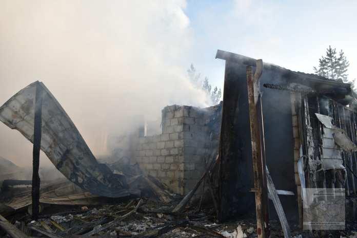 На пожаре в Рязанской области погибла 80-летняя женщина