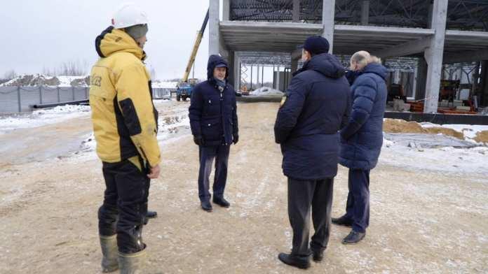 Аркадий Фомин и Евгений Беленецкий побывали с рабочей поездкой в Лесном и Мосолове