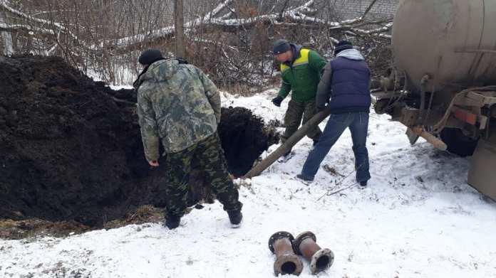 Из-за аварии рязанский райцентр остался без воды