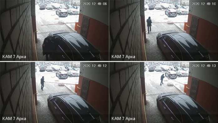В Рязани водитель сломал шлагбаум, чтобы припарковаться во дворе
