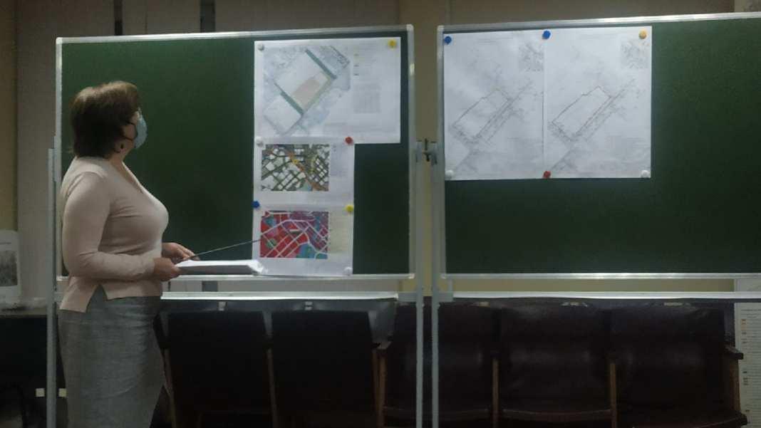 Вопрос строительства дома на улице Татарской обсудили слушаниях