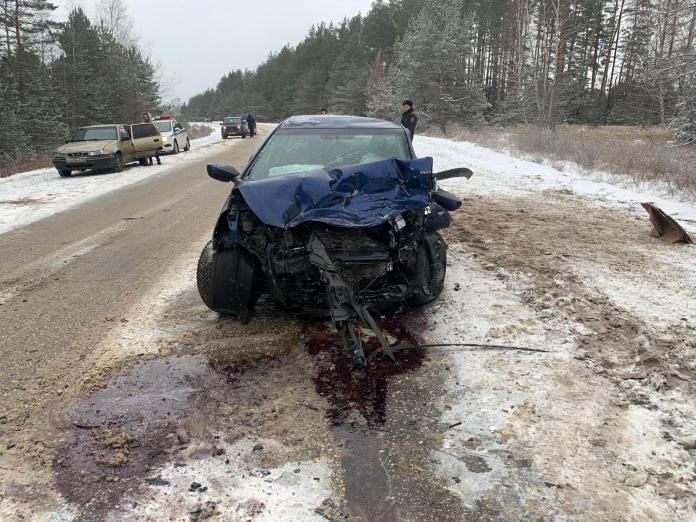 Два человека пострадали в результате аварии в Клепиковском районе